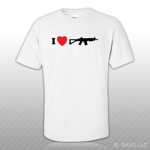 I Love My Sig552 T Shirt Tee Shirt Gildan S M L Xl 2xl 3xl