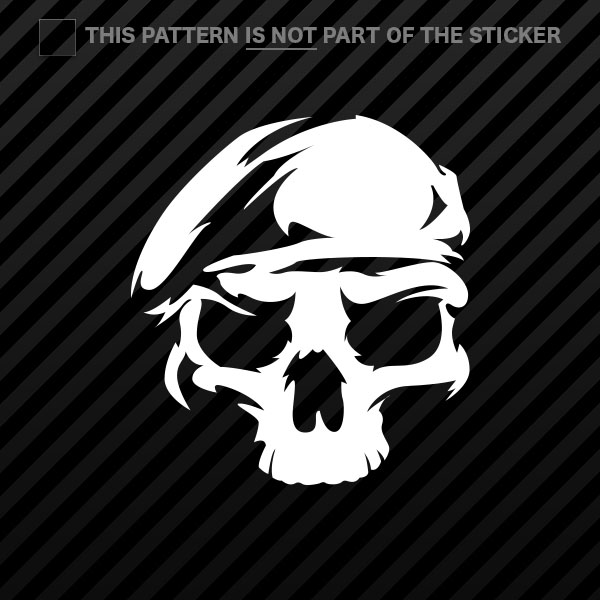 2x Us Army Ranger Skull Sticker Vinyl Rangers Unit Special Forces