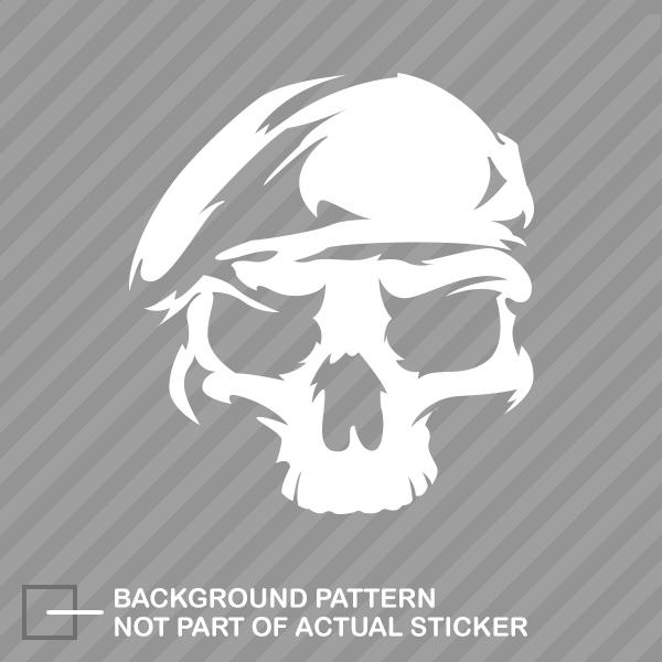 Us Army Ranger Skull Sticker Die Cut Decal Rangers Unit Special
