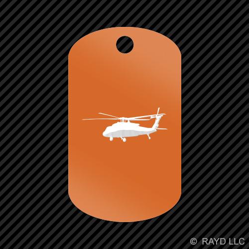 UH-90-Black-Hawk-Keychain-GI-dog-tag-engraved-many-colors-UH90