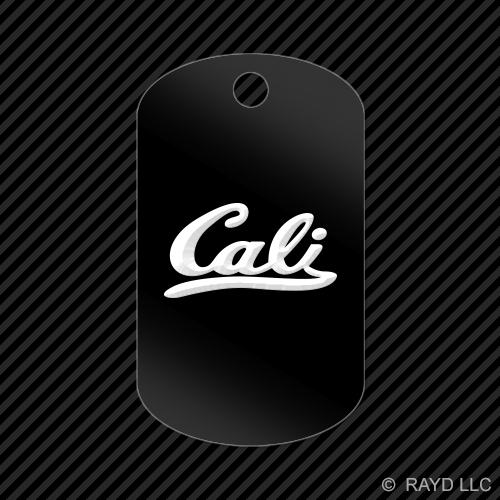 Cali-Keychain-GI-dog-tag-engraved-many-colors-California-Republic