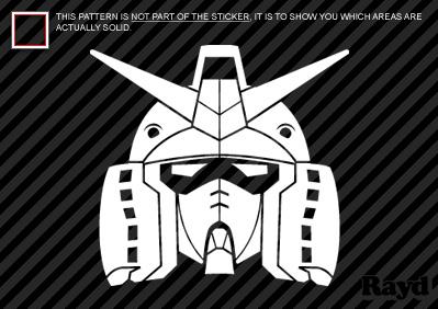 Gundam Sticker Die Cut Decal Self Adhesive Vinyl Ebay